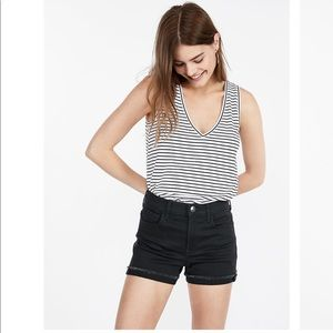 Express Shorts - Mid Rise Summer Shorts